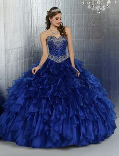 Q by DaVinci Quinceanera Dress Style 80271 is made for Sweet 15 girls who want to look like a beautiful Princess on her special day with its lovely design. Made out of Shimmer Organza, this two-piece