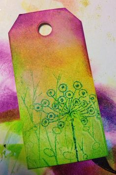 ©Sarah Anderson - adirondack inks and the gelli plate -