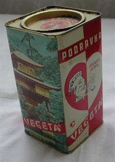Vegeta, famous mix of spices for home-made dishes, loved for generation Remember The Time, Gone With The Wind, Cool Countries, Metal Box, Time Capsule, Childhood Memories, Packaging Design, Retro Vintage, The Past