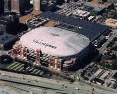 Edward Jones Dome (1995) - St. Louis, Missouri ... home of the St. Louis Rams