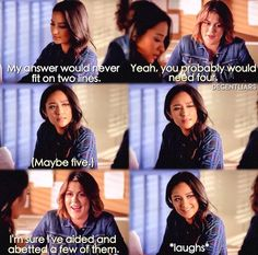 Pretty Little Liars - Emily and Paige Season 7 Episode 9