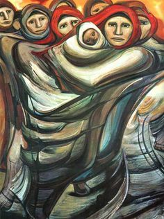 Alfredo ramos martinez is one of the greatest mexican for Mural mexicano