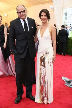 Reed Krakoff and Cobie Smulders [Photo by Evan Falk]