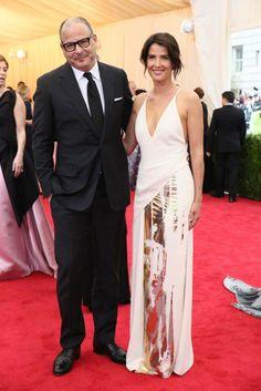 Reed Krakoff and Cobie Smulders [Photo by Evan Falk]