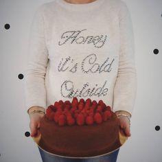 Mud cake al cioccolato #ricetteaquadretti #thisishome