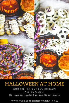 """Spooky, Scary Skeletons"" from Halloween Howls: Fun and Scary Music is the perfect soundtrack to #HalloweenAtHome #spookyscaryskeletons #brandpartner @CraftRecordings Halloween Dance, Spirit Halloween, Spooky Halloween, Happy Halloween, Scary Music, Yogurt Covered Pretzels, Milano Cookies, Candy Eyeballs, Spooky Scary"