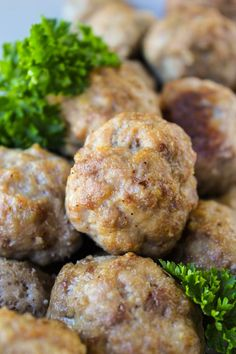 These easy, baked, no-chop homemade meatballs are perfect for making ahead and freezing. They are very easy to adapt. Skip the overpriced frozen ones at the store!!
