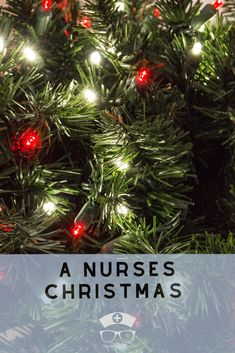 A Nurses Christmas. This poem is sure to get you through Christmas with a smile. #thenerdynurse #nurse #nurses #nursehumor #humor