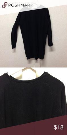 Forever 21 chunky knit sweater dress Black long sleeve knit sweater dress Forever 21 Dresses Long Sleeve