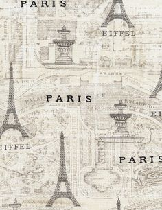 Paris Map Cotton Novelty Fabric by Timeless Treasures at TCSFabrics.com #Fabric #CottonFabric #ParisFabric #ParisMapFabric #C4564 #TimelessTreasures #NoveltyFabric #Quilting #Sewing