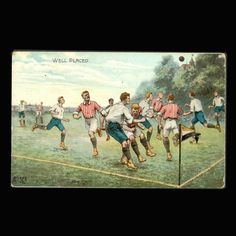 Vintage Postcard Well Placed Football from JMCVintagecards on Etsy Postcards For Sale, Vintage Postcards, French Armed Forces, Coins For Sale, Old Photos, Mall, Football, Antiques, Painting