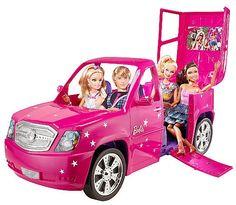 """Barbie Fashionista Ultimate Limo - Mattel - Toys""""R""""Us Barbie Y Ken, Barbie Car, Barbie Dolls Diy, Mattel Barbie, Doll Toys, Baby Dolls, Bad Barbie, Barbie Stuff, Baby Doll Nursery"""