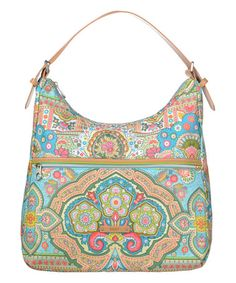 Look what I found on #zulily! Canal Blue Hobo Bag #zulilyfinds