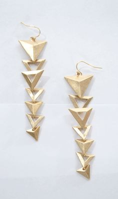Directionally Challenged Earrings - $14