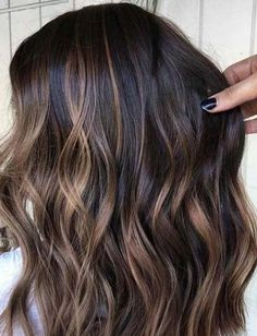 Visit this link and find the stunning shades of brunette balayage hair colors wi. Balayage , Visit this link and find the stunning shades of brunette balayage hair colors wi. Visit this link and find the stunning shades of brunette balayage . Brown Hair Balayage, Hair Color Balayage, Dark Brunette Balayage Hair, Balayage Highlights Brunette, Blonde Hair, Brunette With Caramel Highlights, Hair Bayalage, Balayage Hair Caramel, Baylage On Dark Hair