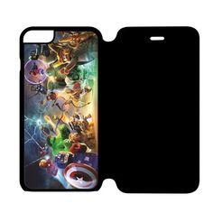 Lego Marvel Super Heroes iPhone 6 Flip Case Cover