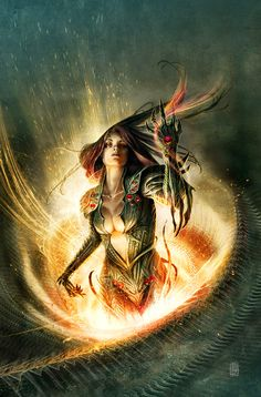 Witchblade issue 144 by JS Rossbach on #DeviantArt