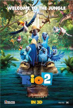 Rio 2 3D: Dublat / Familie / Comedie / Aventura / Animatie / 101 min