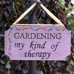 Ideas Garden Quotes Signs Nature For 2019 - Metarnews Sites Garden Crafts, Garden Projects, Garden Ideas, Garden Fun, Diy Crafts, Amazing Gardens, Beautiful Gardens, Organic Gardening, Gardening Tips