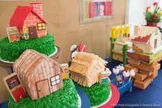 festa os tres porquinhos, mesa de doces, festa meninos, festa, festa infantil, boys party, pig