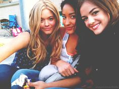 Alison, Emily and Aria