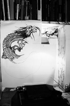 Create Your Own Stunning Website for Free with Wix Irezumi Tattoos, Drawing For Tattoo, Monet, Tattoo Japonais, Traditional Japanese Tattoos, Dojo, Predator, Paris France, Tapestry