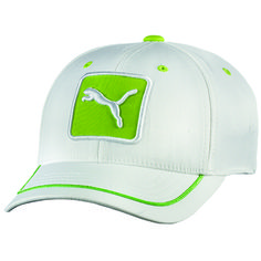 1344e4c0b0a TheBeltShoppe.com - PUMA Cat Patch Relaxed Fit Cap - White   Lime. The Belt  Shoppe · Golf Hats for Men · Puma Monoline Youth ...