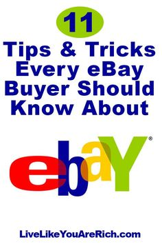 11 Tips and Tricks Every eBay Buyer Should Know About  @LibertyMutual #BidProtectionSweeps #ad #LiveLikeYouAreRich
