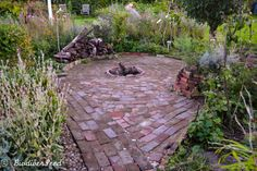 The firepit and herb spiral I started building this area from scratch two years ago, but was never really happy with how it turned out the first time around. Like most things in the garden, it has been a constant work in progress.