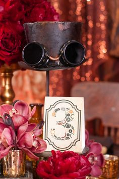 Steampunk Wedding  loooovvvvee the top hat!!