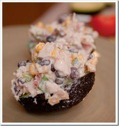 Avacado chicken salad.  This sight has amazing recipes.