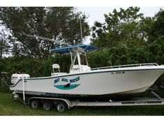 1997 Mako 282 -1997 Mako 282 Open Fisherman w/ Twin 225 Johnson Ocean Runner's. Will not find a cleaner, better maintained boat. Take a look at the pictures. 2nd Owner all papers, 928 Hours 235 gallons of fuel. New top and cushions 2 years ago, like new. - See more at: http://www.caboats.com/used-boats/8759.htm