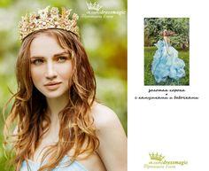 золотая корона с бабочками к золотому платью при его аренде предоставляется бесплатно