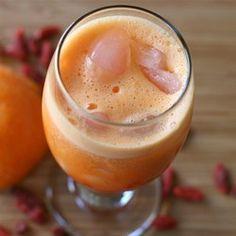 Orange Juice Goji Berries Smoothie - Allrecipes.com