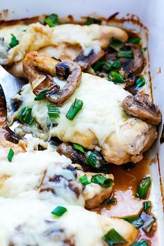 Incredibly juice, savory chicken baked in a quick marsala sauce with tender mushrooms and melty mozzarella cheese! This is one of those dishes. You know the ones. The kind that you make once and say, oh my gosh where has this been all my life and immediately vow to put it on your regular dinner...Read More »