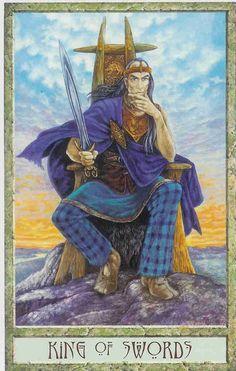 druidcraft tarot king of swords - Pesquisa Google