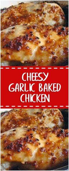 Cheesy Garlic Baked Chicken – Fresh Family Recipes