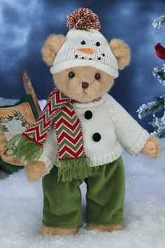 Bearington Bears - Wyatt Wonderland 14inch – Olde Church Emporium