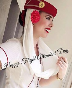 Happy Flight, Emirates Cabin Crew, Airline Uniforms, Emirates Airline, Travel Flights, Costa Rica, Girls Uniforms, Flight Attendant, Lady In Red