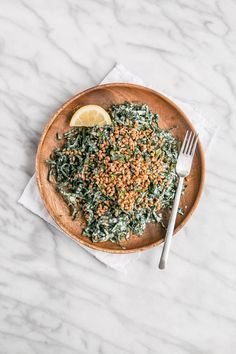 Kale Caesar Salad with Toasted Wheat Berries   My Kitchen Love Kale Recipes, Clean Recipes, Whole Food Recipes, Kale Caesar Salad, Microwave Recipes, Berries, Toast, Pork, Salads