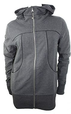 The high neck and longer length provide greater coverage Full Zip Hoodie 4f4108ac64