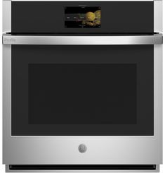 GE Profile™ 27 Smart Built-In Convection Single Wall Oven Cleaning Oven Racks, Self Cleaning Ovens, Single Wall Oven, Electric Wall Oven, Stainless Steel Oven, Heating Element, Interior Lighting, Colorful Interiors, Cool Kitchens