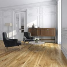 Woodland Click - Engineered Wood Flooring - Oak Brushed and Oiled - - Engineered Wood from Discount Flooring Depot UK Solid Wood Flooring, Engineered Wood Floors, Timber Flooring, Plank Flooring, Hardwood Floors, Floor Sitting, Home Office, Interiores Design, Home Interior Design