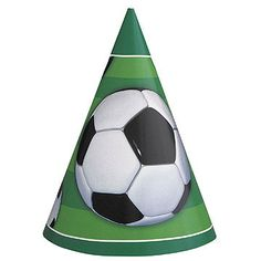 b7972bb5e36 Soccer Mania Party Hat (includes 8 pcs in a pack)