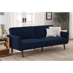 Free Shipping. Buy Better Homes and Gardens Flynn Modern Futon, Multiple Colors at Walmart.com