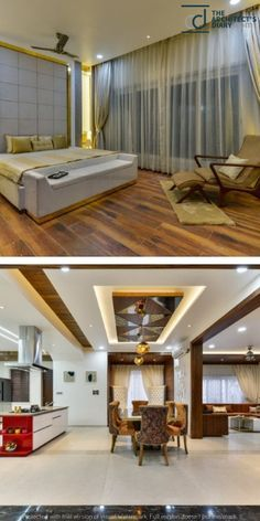 Contemporary Indian House In Indore Ceiling Design Living Room