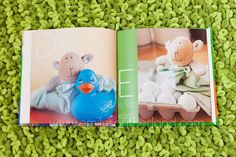 Alphabet book - with a fav toy / lovie for each letter.