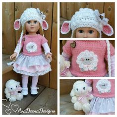 Complete Lamb outfit clothes for 18 inch doll - american girl doll | Dolls & Bears, Dolls, Clothes & Accessories | eBay!