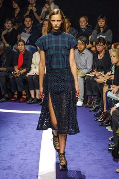 Sacai rolls out the purple carpet at Paris Fashion Week. See his top five looks and more, here: