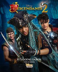 Descendants 2 its going down- Gill Uma and Harry